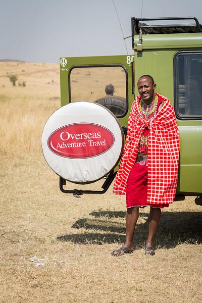 David in the Maasai Mara