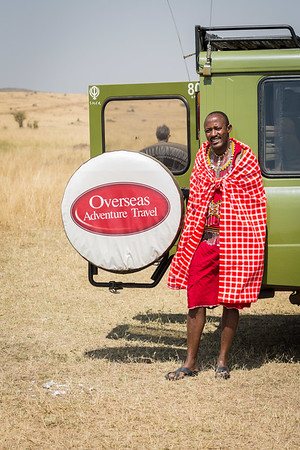 David in the Maasai Mara