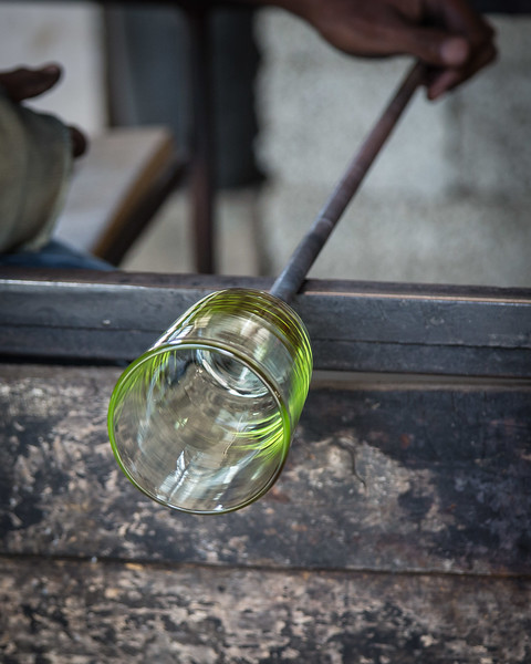 Glass Blowing at the Coffee Lodge in Arusha