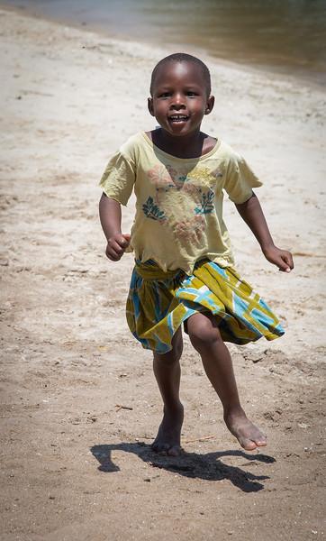 Girl at the Fishing Village
