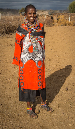 Joseph's Wife outside of Amboseli