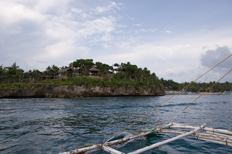On the way to Boracay