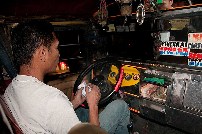 A JEEPNEY DRIVER