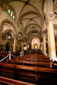 Manila Cathedral in Intramuros, the oldest area of Manila