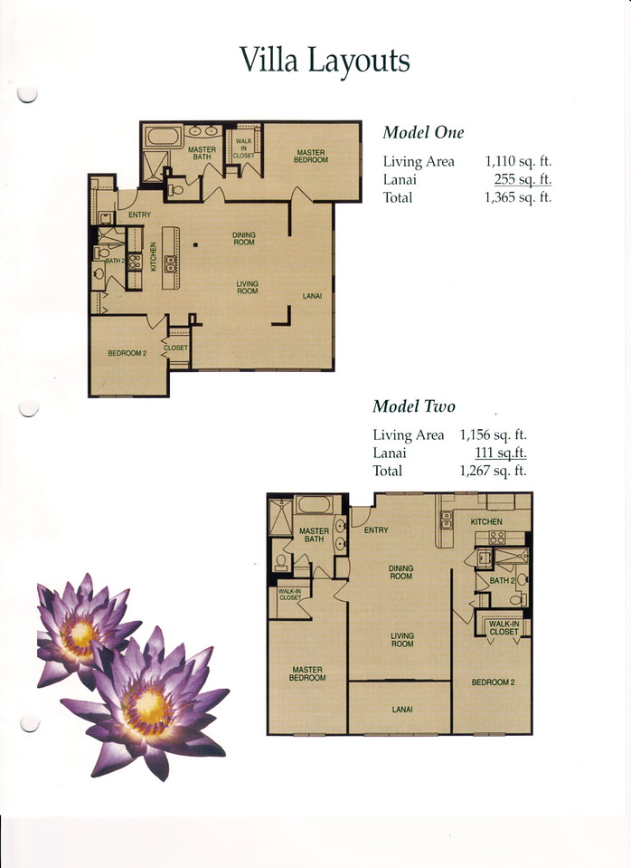 999 - room layouts