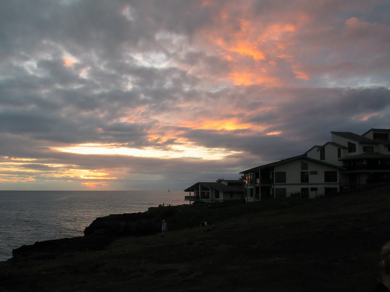 380 - sunset at The Point at Poipu Resort