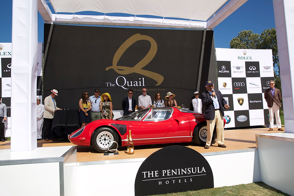 2015 The Quail, A Motorsports Gathering