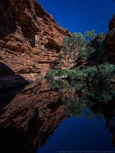 The final pool in Kings Canyon.