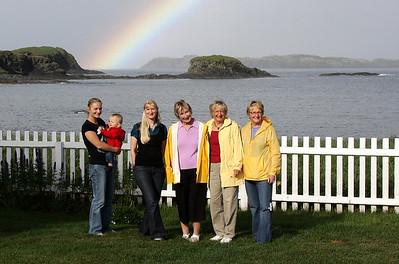 Heather, Aiden, Kristin, Marilyn, Karen, Barbara