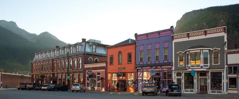 Colorful Silverton, CO