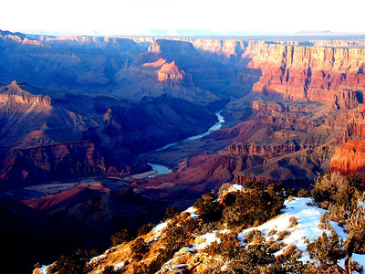 Grand Canyon - Blue Hour Sets In