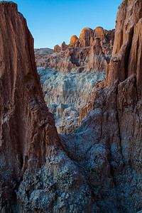 Cathedral Gorge Portrait