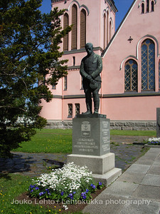 The Memorial of The Soldiers of II World War, the Church of Kemi