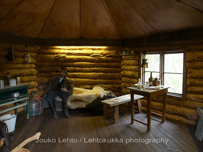 Tankavaara - Gold museum: Nut cabin