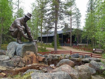 Tankavaara - Gold museum: The Goldminer