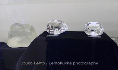 Tankavaara - Gold museum: Jewels