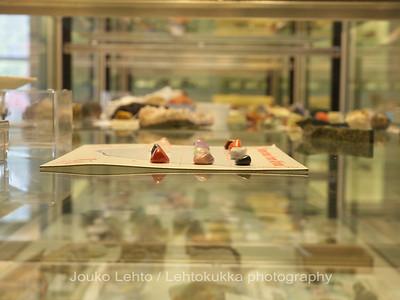 Tankavaara - Gold museum: Museum of minerals