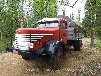 Tankavaara - Gold museum: Vanaja truck