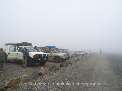 Nordkapp - Mageroya: The Parking place