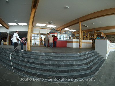 Nordkapp - Mageroya: The Centre inside