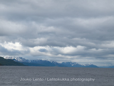 Stone age view - Alta fjord