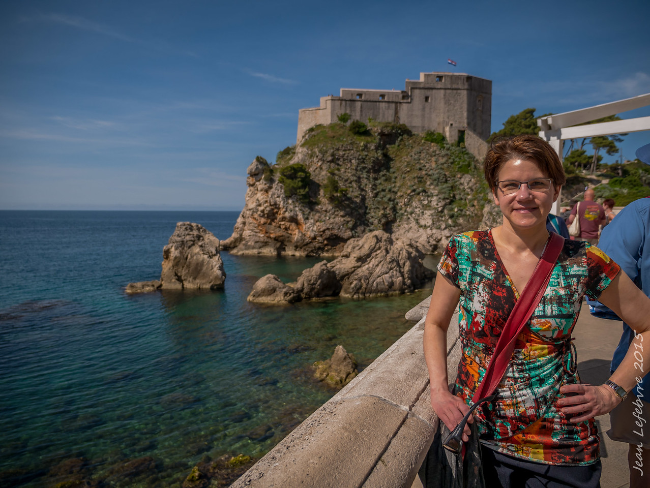 Cathy in Dubrovnik