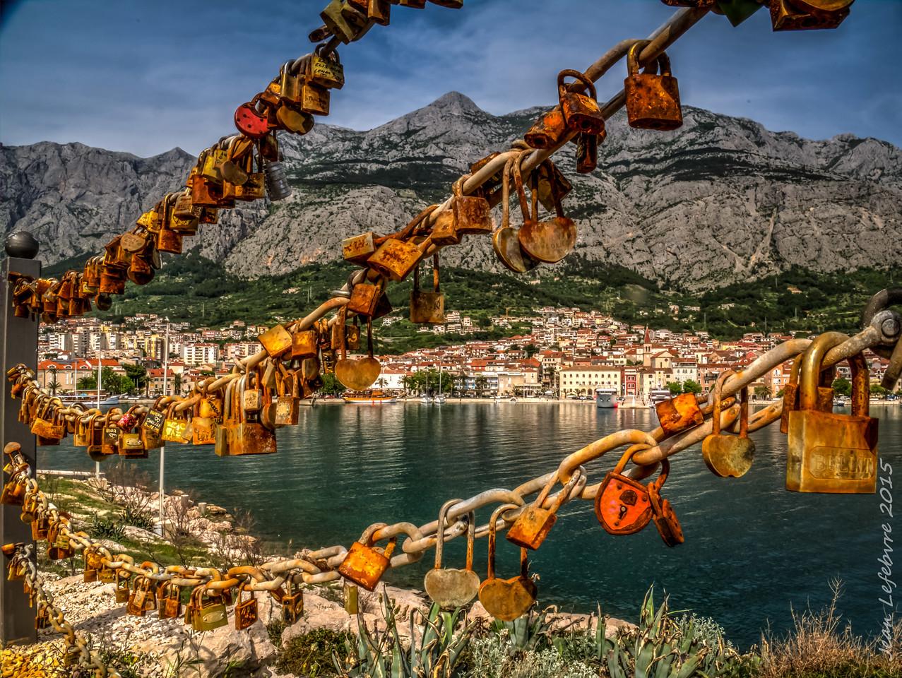 Prisoners of Love: In Markarska Croatia St Peter keeps the keys .. Forever!