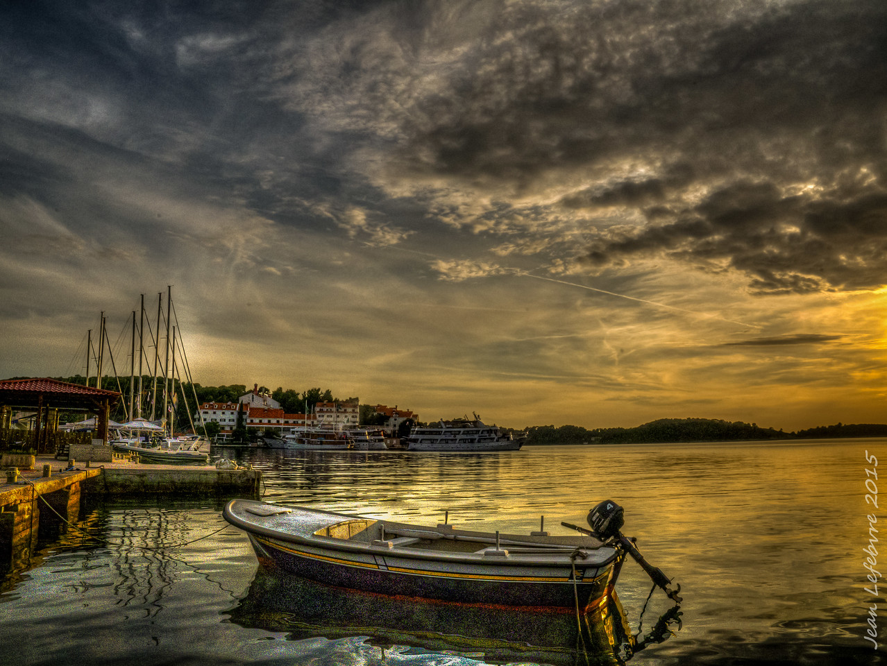 Pomena Harbour, Dalmatian Islands