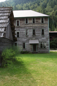 Ghost town attraction, Three Valley Gap, B.C.