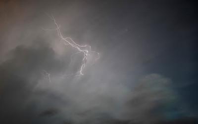 Lightning storm, Winnipeg, Manitoba.