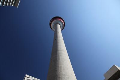 Calgary Tower, Calgary, Alberta.