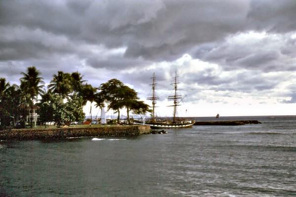 Wharf Lanaina, Maui Hawaii USA - Nov 1981