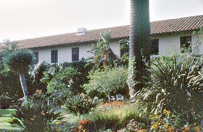 Gardens Santa Ynez Mission Solvang USA - Oct 1981