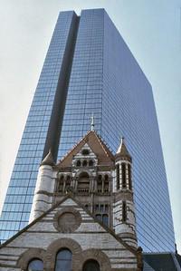 Hancock Tower Boston USA - Oct 1978