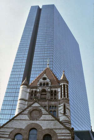 Hancock Tower Boston USA - Oct 1978