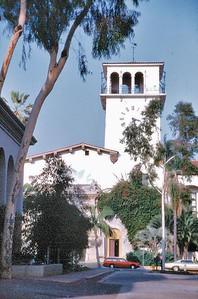 Court house Santa Barbara USA - Oct 1981