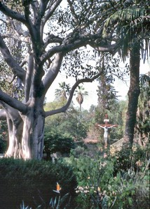 Mission cemetary Santa Barbara USA - Oct 1981