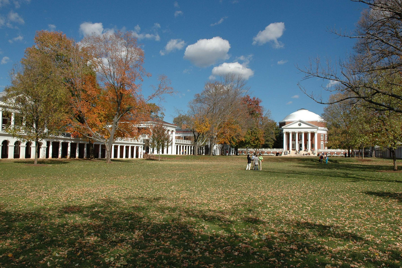 University of Virginia campus, 2006