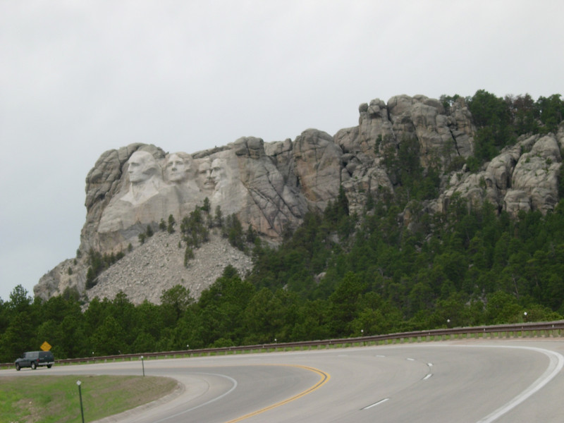 Stopped in Broken Bow, Nebraska for gas, and a motel....every place in town is booked....Wednesday night, Broken Bow Nebraska....whodda thunk it...got the last available room in town....$40 cash...my kind of fleabag. Next day, made it to Rapid City, and obligatory Mt. Rushmore visit