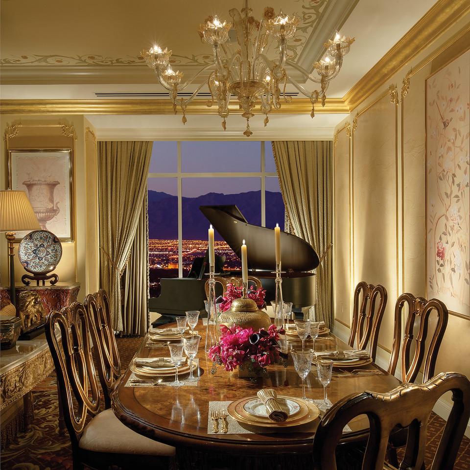The Venetian Penthouse- Dining Area
