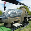 A Vietman War veteran helicopter gunship. This, and the other helicopters are owned by members of the North Carolina Vietnam Helicopter Pilots Association. They were here today as a display to compliment the Memorial Wall.