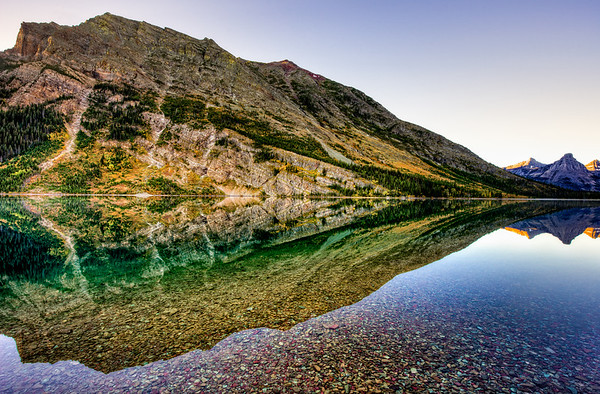 Reflections of Mt Bear