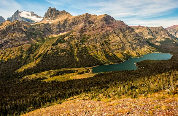 A Sweeping Glacier National Park Vista
