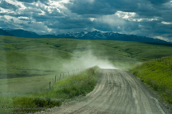 Ranch Road Before the Storm #1 - Red Lodge, Montana - 2010