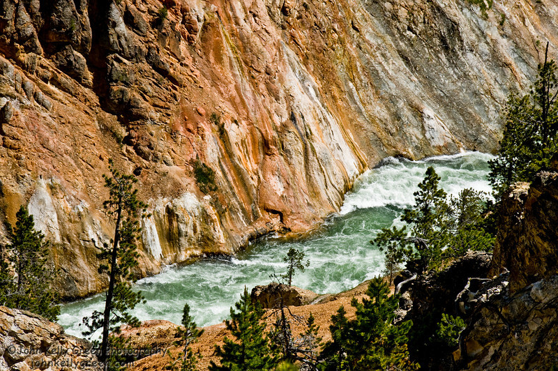 Yellowstone River Canyon - Wyoming - 2010