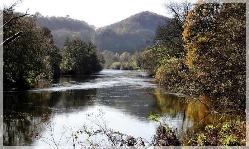 The River Wye below Lower Lydbrook