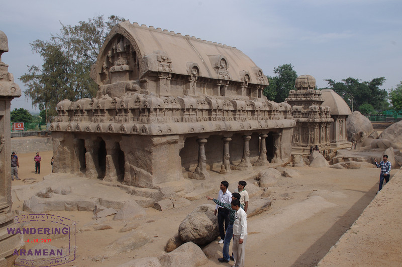 More of the Rathas.