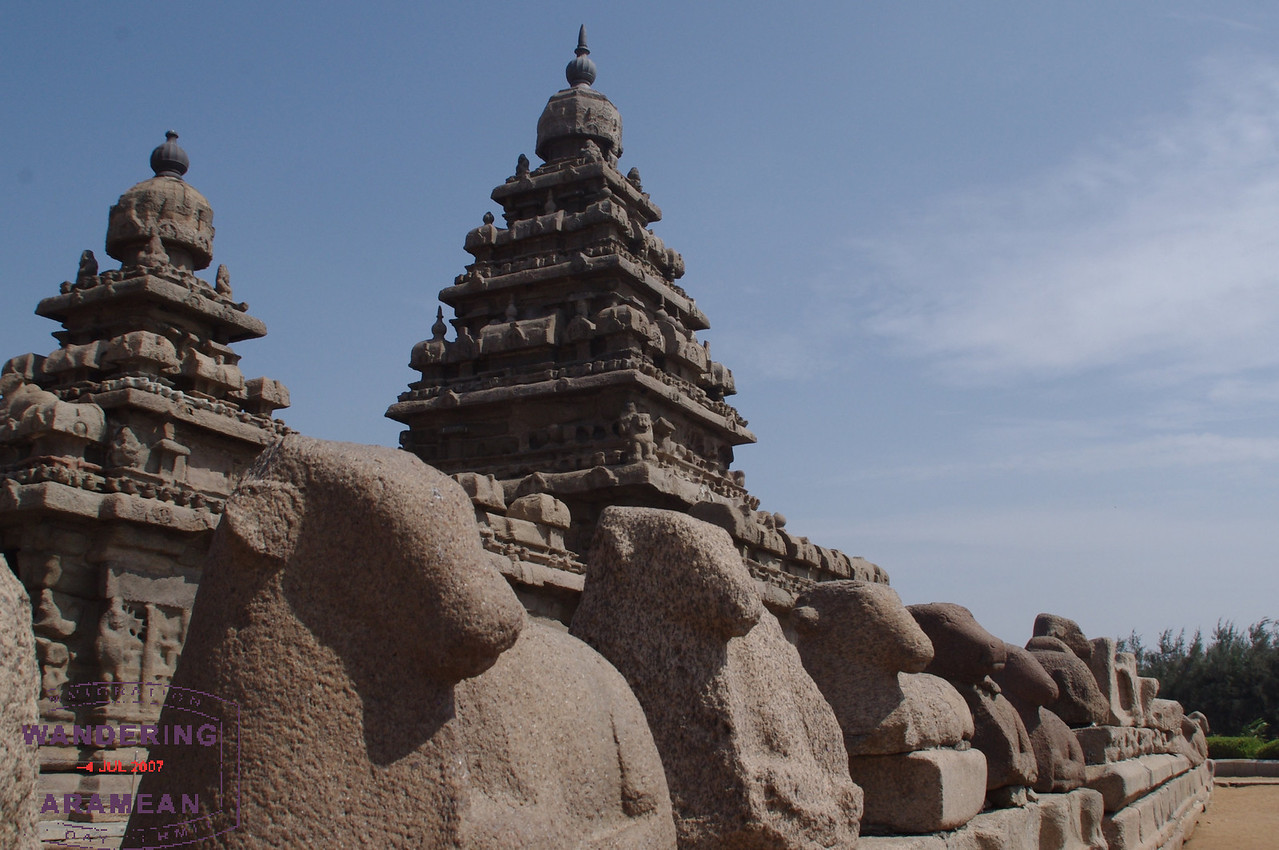 More of the Shore Temple
