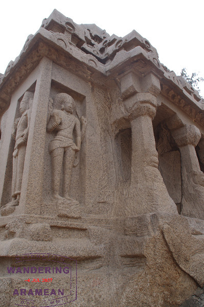 One of the five rathas