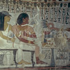 murals painting, burial chamber of Sennefer (TT96)  Sheikh 'Abd el Qurna, Thebes, Egypt